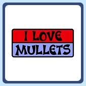 i love mullets funny vintage hair retro tees