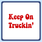 retro keep on truckin' keep on trucking shirt