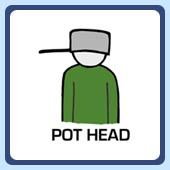 weird silly funny pot head pothead t-shirts and clothing