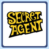 secret agent retro tees.