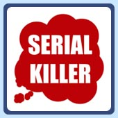 blood splatter serial killer t-shirt and other apparel
