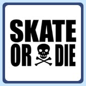 classic eighties 1980s skate or die retro skating 80's skater tees and clothing
